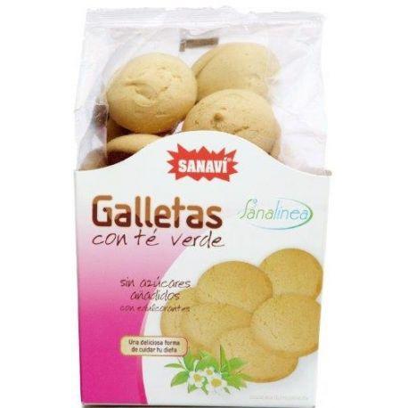 GALLETAS DE TE VERDE S AZUCAR 100 GR