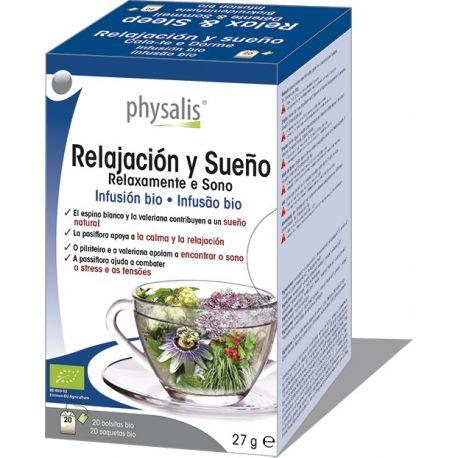 INFUSION RELAX Y SUEÑO BIO