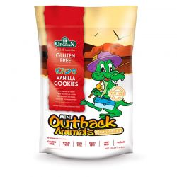 OUTBACK ANIMALS VANILLA COOKIES 175 GR. (MULTIPACK)