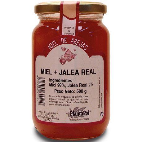 MIEL CON JALEA REAL 500GR.
