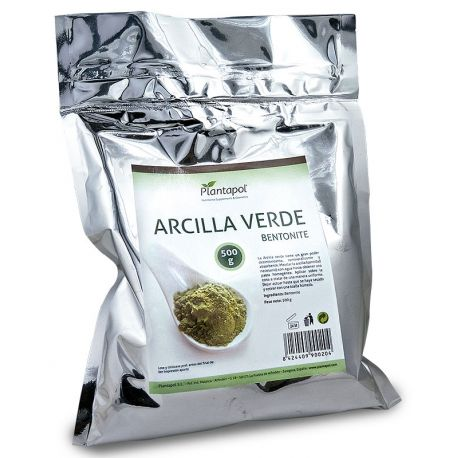 ARCILLA VERDE 500 GR.
