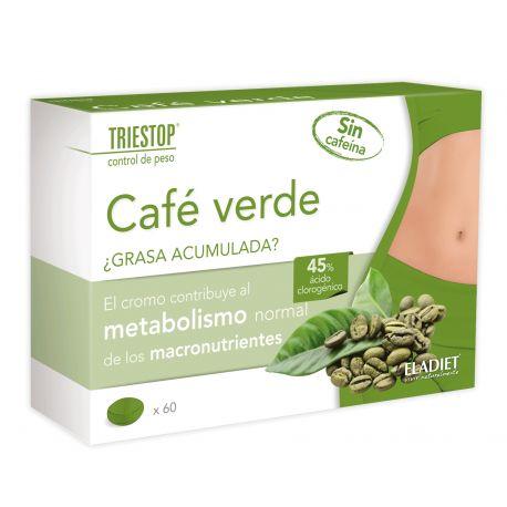TRIESTOP CAFE VERDE 60 CAPS