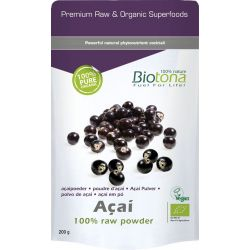 BIOTONA ACAI RAW POWDER 200 GR