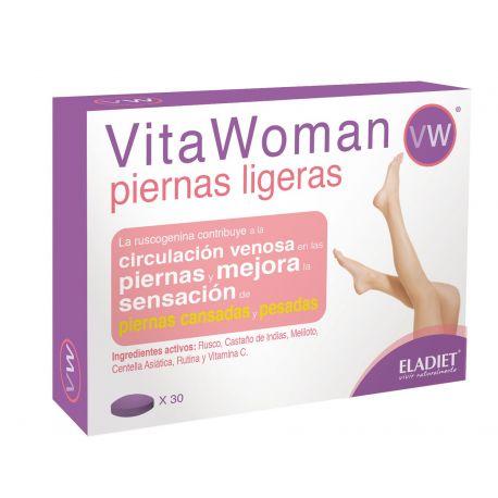 ELADIET VITAWOMAN PIERNAS LIGERAS 30 COMP