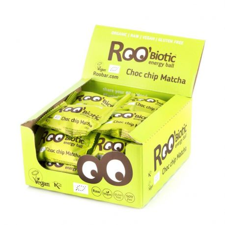 ROOBIOTIC BALL CHOCO CHIP MATCHA 1 CAJA