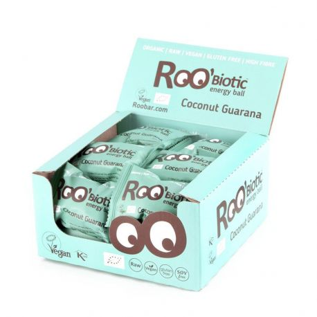 ROOBIOTIC BALL COCONUT GUARANA 1 CAJA