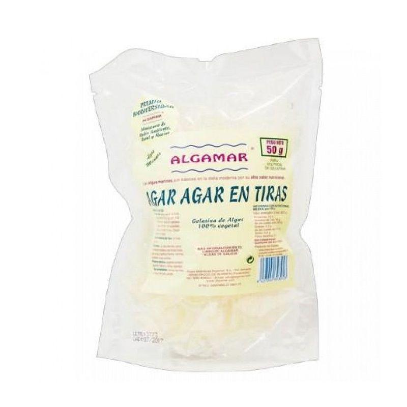 ALGA AGAR-AGAR EN TIRAS 50 GR