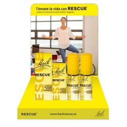BACH RESCUE EXPOSITOR RESCUE 4(R20)+4(R10)+3(SPRAY) 1 SPRAY S/C