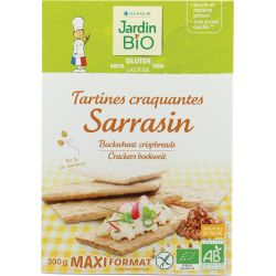 JARDIN BIO PAN CRUJIENTE SARRACENO SIN GLUTEN POCKET 220 GR PVPR 5,96