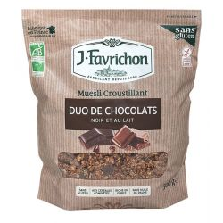 FAVRICHON CRUNCHY MUESLI DUO DE CHOCOLATES 500 GR PVPR 6,45