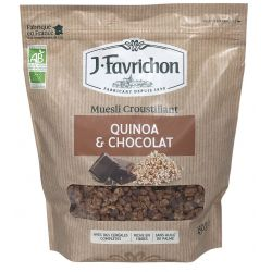 FAVRICHON CRUNCHY MUESLI QUINOA Y CHOCOLATE 450 GR PVPR 6,15
