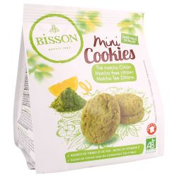 BISSON MINI COOKIES TE MATCHA LIMON