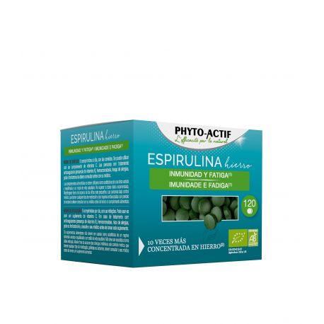 PHYTOACTIF ESPIRULINA HIERRO ECO 120 COMP