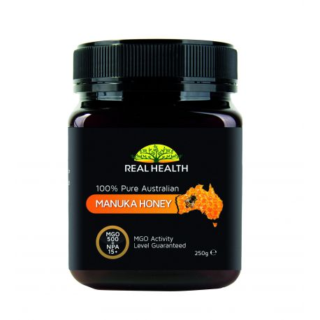 REAL HEALTH MIEL MANUKAM MG0500 250 G