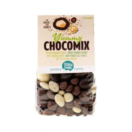 DELICIAS YUMMY CHOCOMIX / NUECES-PASAS-CHOCO 200G