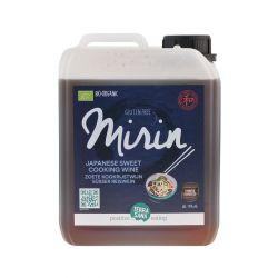 MIRIN - VINO DE ARROZ DULCE PARA COCINAR 2,5L