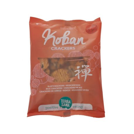 CRACKERS KOBAN DE ARROZ 80G
