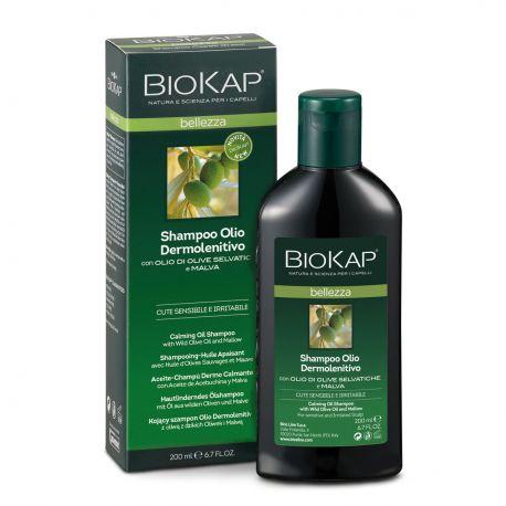 BIOKAP CHAMPU-ACEITE DERMO CALMANTE 200 ML