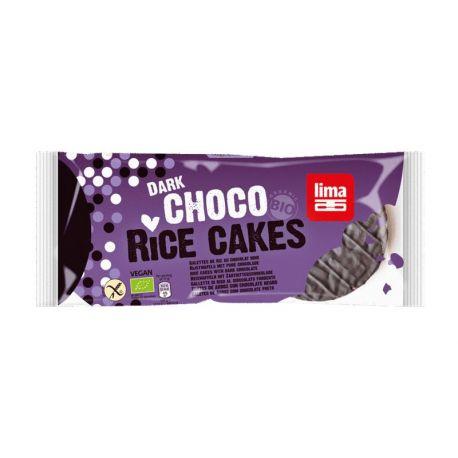 LIMA TORTAS DE ARROZ CON CHOCOLATE 100g