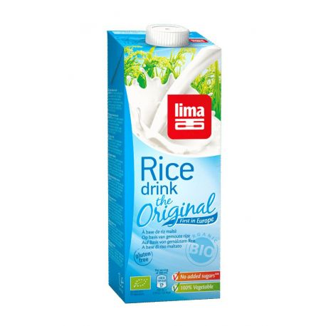 LIMA BEBIDA ARROZ ORIGINAL 500ml CAJA