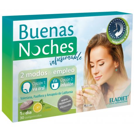 ELADIET BUENAS NOCHES INFUSIONABLE 30 COMP