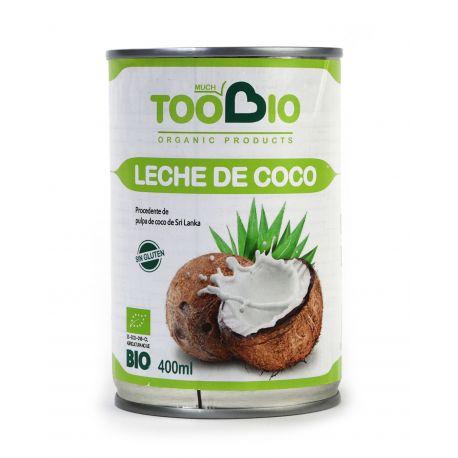 TOOBIO LECHE DE COCO BIO 400 ML