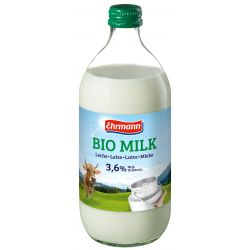 EHRMANN LECHE DE VACA ENTERA 500 ML BIO