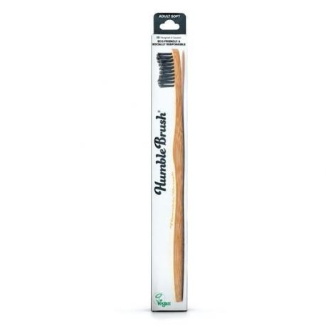 HUMBLE CEPILLO DENTAL BAMBU ADULTO NEGRO