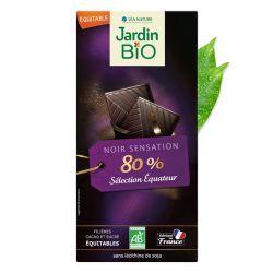 CHOCOLATE 80% DE CACAO 100GR