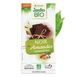 CHOCOLATE NEGRO CON ALMENDRAS 100GR