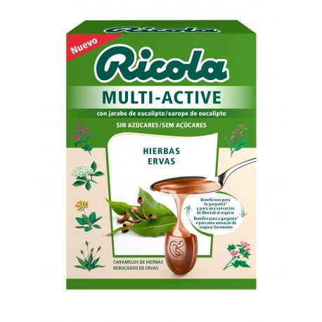 RICOLA MULTI ACTIVE HIERBAS 51 GR