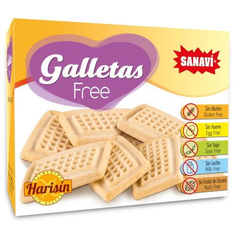 HARISIN GALLETAS FREE