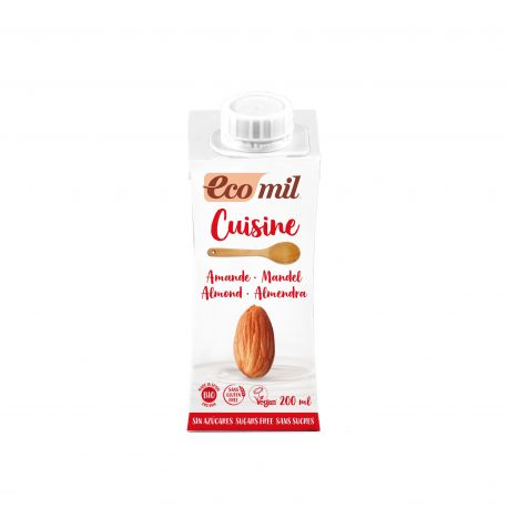 ECOMIL CUISINE ALMOND NATURE BIO 200 ML