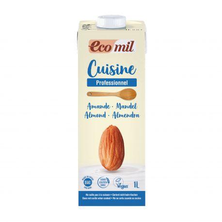 ECOMIL CUISINE ALMOND BIO 1 L