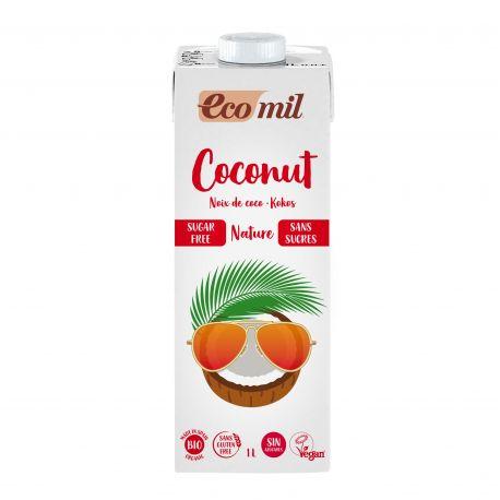 ECOMIL BEBIDA DE COCO SIN AZUCARES BIO 1 L