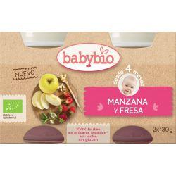 BABYBIO DELICIA FRUTAS BIO 2X130 G