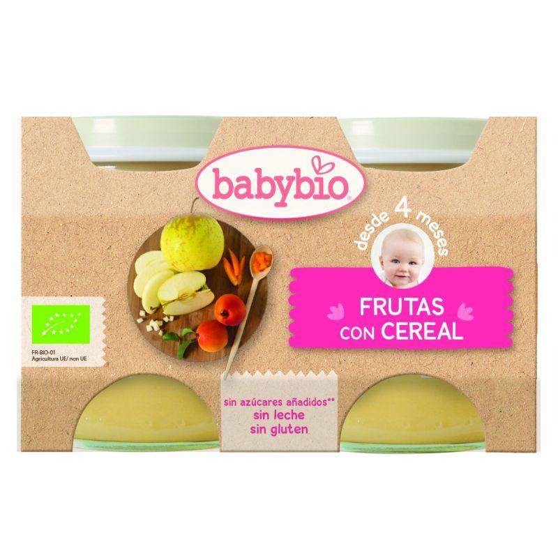 BABYBIO FRUTAS CEREAL BIO 2X130 G