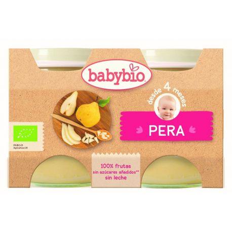 BABYBIO POTITOS PERA BIO 2X130 G