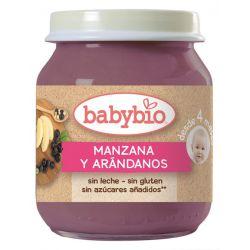 BABYBIO MANZANA ARANDANOS BIO 130 G