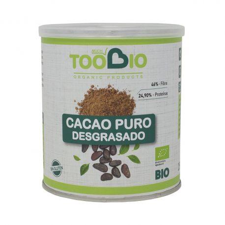 TOOBIO CACAO POLVO 10-12% BIO 250GR