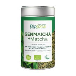 BIOTONA GENMAICHA + MATCHA 80 GR