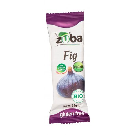 ZUBA FIG BARS FRUIT BAR 35 GR