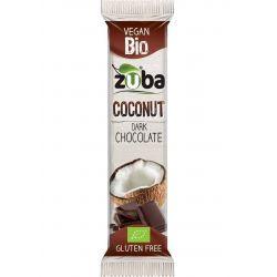 ZUBA COCONUT BARS DARK CHOCOLATE 53 GR