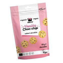 KOOKIE CAT MINI VAINILLA CHOCO CHIPS 100 GR