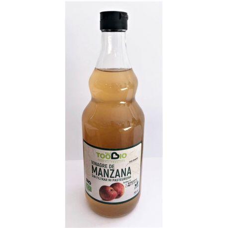 TOOBIO VINAGRE DE MANZANA SIN FILTRAR CON MADRE 750 ML