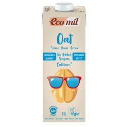 Ecomil Bebida de Avena Calcio (sin azucar)Bio 1 L