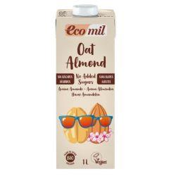 Ecomil Bebida de Avena y Almedra (sin azucar)Bio 1 L