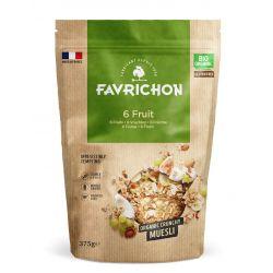 FAVRICHON CRUNCHY MUESLI 6 FRUTAS 375 GR
