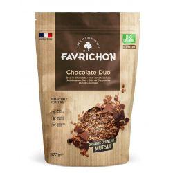 FAVRICHON CRUNCHY MUESLI DUO DE CHOCOLATES 375 GR