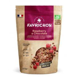 FAVRICHON CRUNCHY MUESLI FRAMBUESA Y CHOCOLATE 375 GR